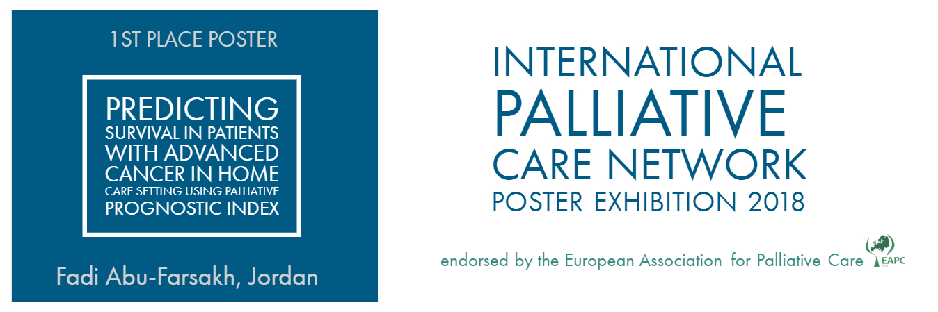 Palliative Care Network 1st place poster