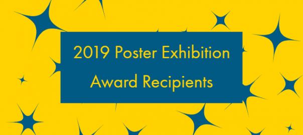 2019 Poster Exhibition Award Recipients
